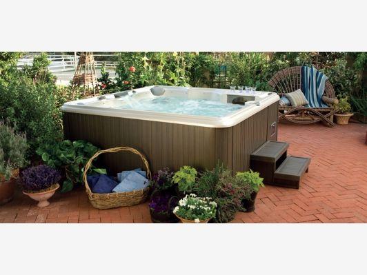 Above Ground Hot Tub Home And Garden Design Idea's Spa Hot