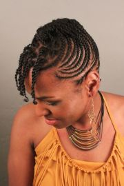 braided natural black hairstyles