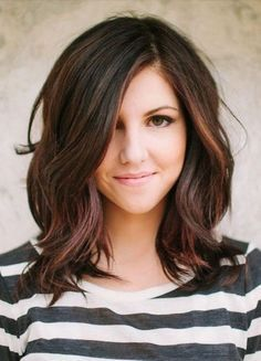 25 Best Ideas About Shoulder Length Haircuts On Pinterest