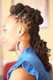 unique natural hairstyles fade
