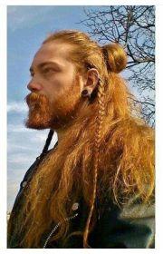 ideas viking hair