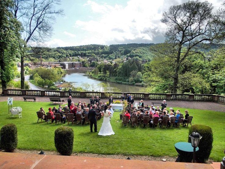 Freie Trauung auf Schloss Ziegelberg in Mettlach  Besondere Orte zum Heiraten  Pinterest