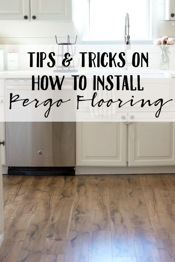 Tip and Tricks on How to Install Pergo Flooring  Home Read more and Tips and tricks
