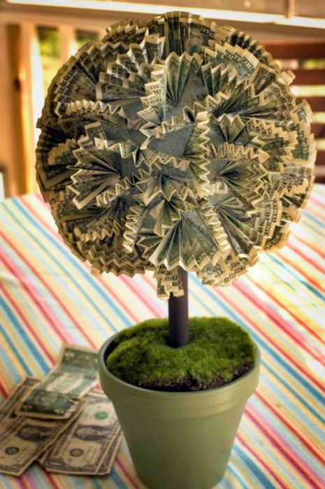 17 Best ideas about Money Trees on Pinterest  Money tree wedding Gift money and Money bouquet