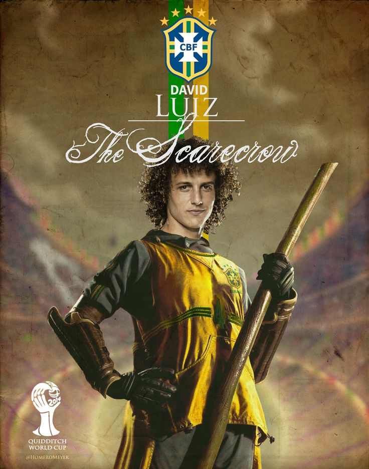 David Luiz As A Quidditch Player Evolve Pinterest