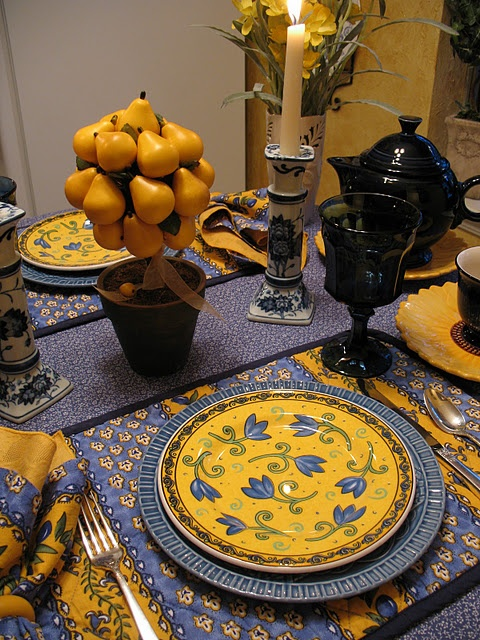 Check out http://findgoodstoday.com/dinnerware: FRENCH COUNTRY: