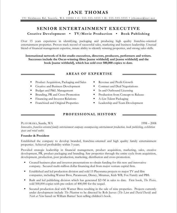 16 Best Images About Media & Communications Resume Samples
