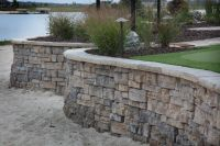 1000+ ideas about Concrete Block Retaining Wall on