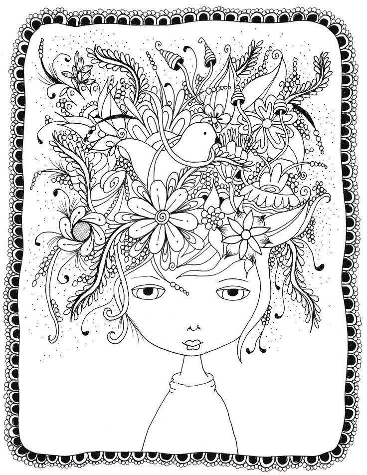 1000+ images about Colouring pages for grown ups on