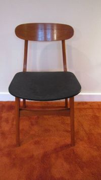 Mid Century Modern Dining Chair, Made in Yugoslavia ...