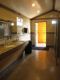 Niagra Falls Campsite bath house | Camp Ground Bathroom ...