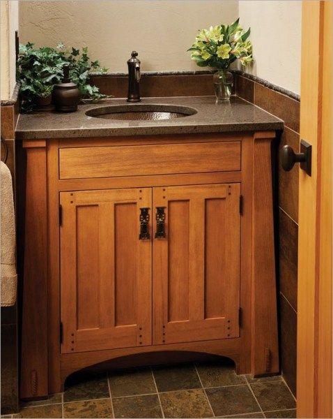 craftsman style bathroom vanity  Google Search  House