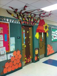 Fall Door Decorating Ideas Classroom - Elitflat