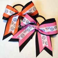 25+ Best Ideas about Volleyball Hair Bows on Pinterest ...