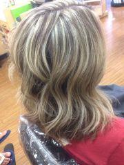 heavy weave blonde highlights