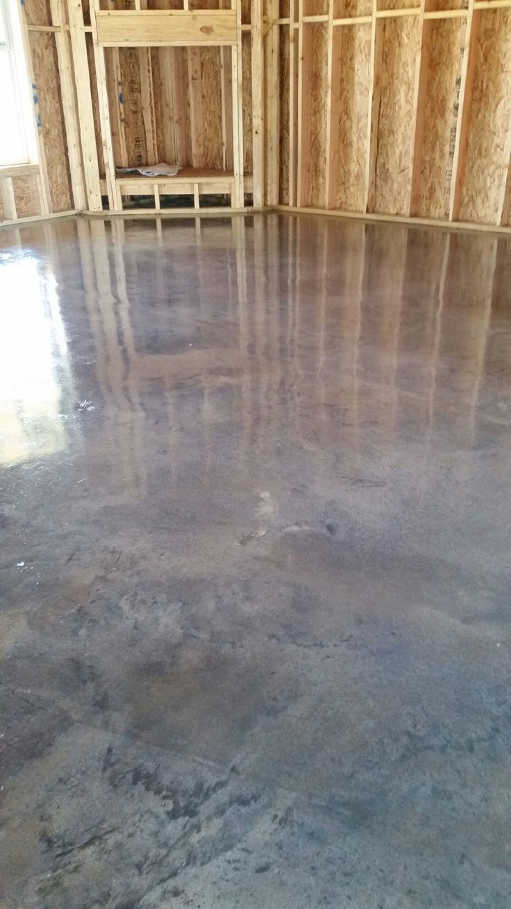 Stained concrete Titanium gray  Stained Concrete