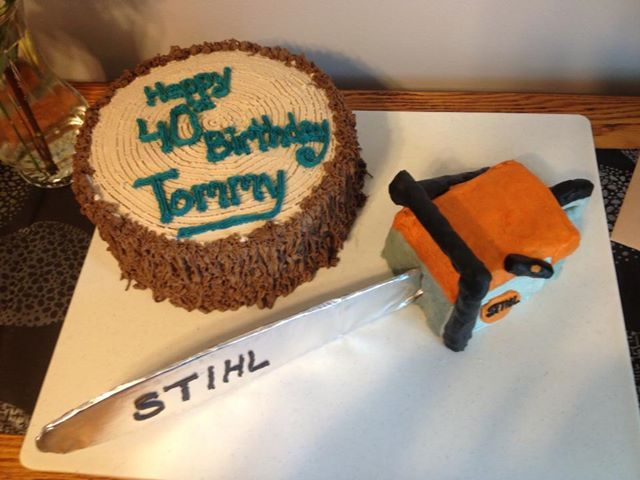 Chainsaw Cake Cakes Pinterest Chainsaw And Cakes