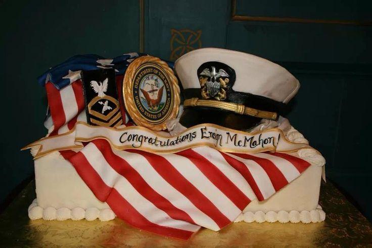 Commissioning Cake Idea US Navy Pinterest Cake Ideas