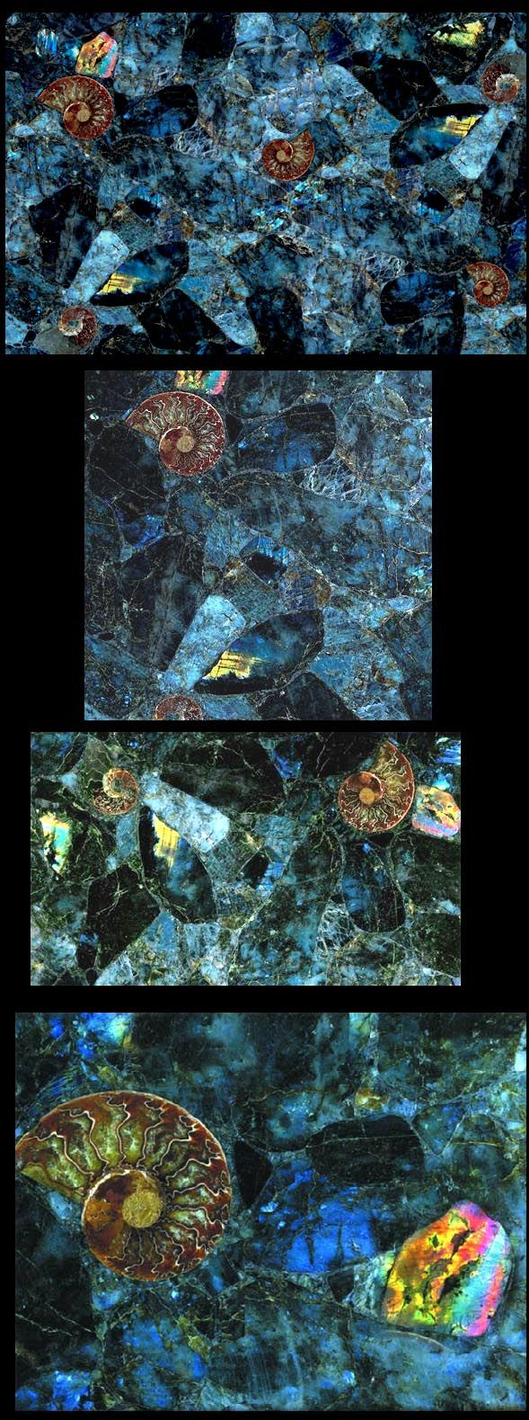 epoxy resin kitchen countertops upgrade ideas labradorite mosaic gemstone slab | architecture/home decor ...