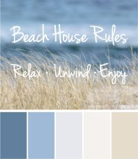 1000+ images about Beach House Color Palettes on Pinterest