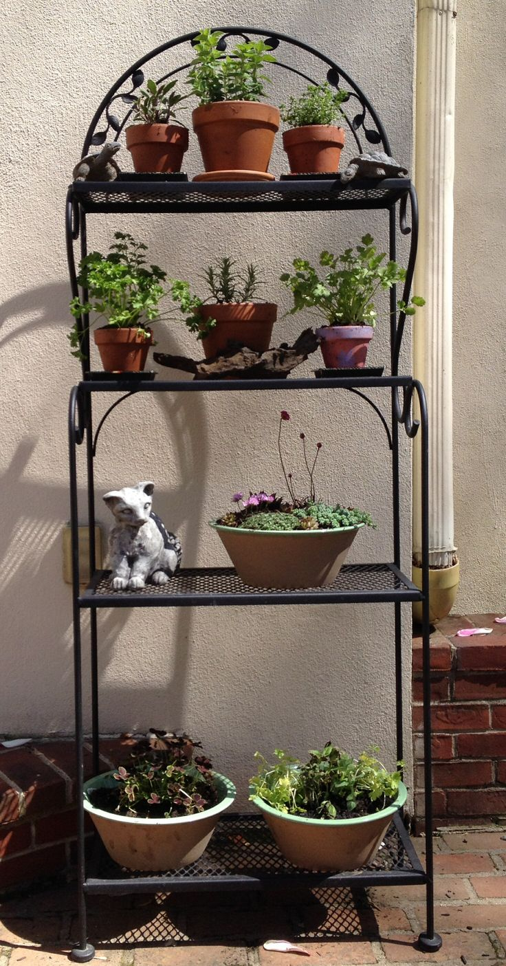 little bakers kitchen create a 52 best images about patio shelves on pinterest   gardens ...