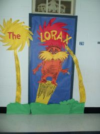 The Lorax | Door Decorating | Pinterest | The o'jays ...