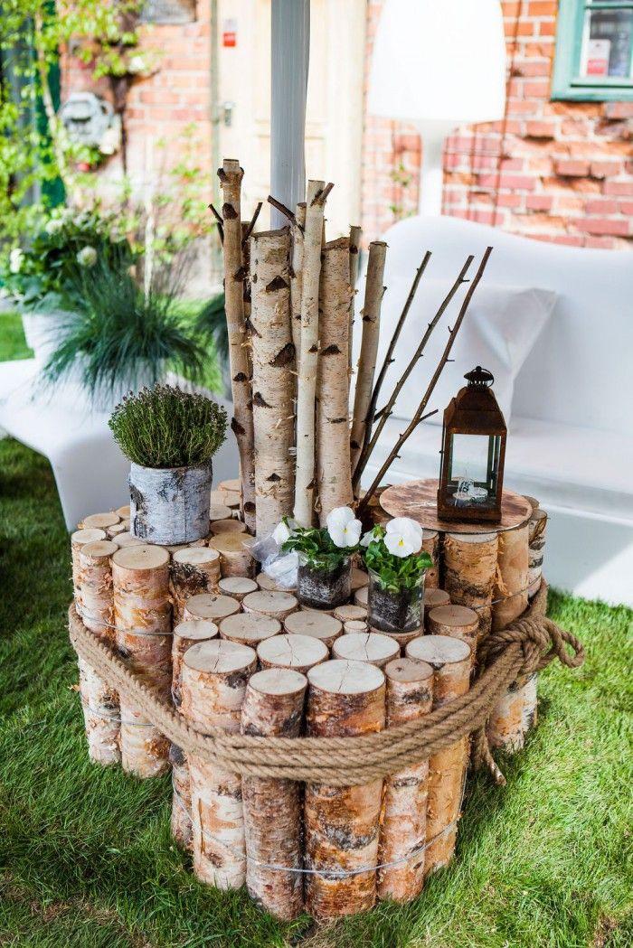 Die 25 Besten Ideen Zu Baumstamm Deko Auf Pinterest Baumstumpf
