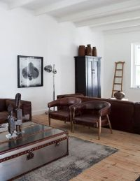 25+ best ideas about Masculine Living Rooms on Pinterest ...