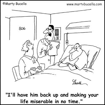 Medical Cartoons, Doctor Cartoons and Hospital Cartoons by