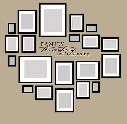 25 Best Ideas About Family Wall Photos On Pinterest Photo Wall