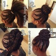 1000 ideas goddess braids