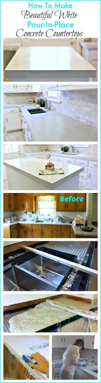 25+ best ideas about Concrete Counter on Pinterest