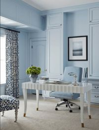 25+ best ideas about Blue home offices on Pinterest | Blue ...