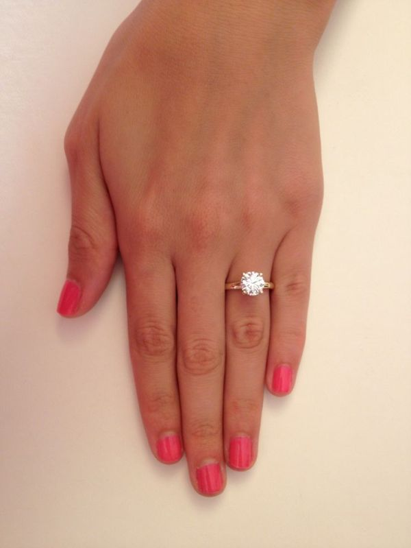 1000 ideas about 2ct Engagement Ring on Pinterest Round