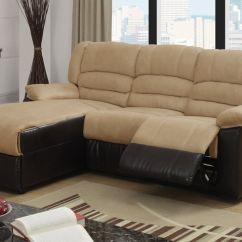 Sofasandmore Grey Rattan Cube Sofa Set 2 Pc Greenbrooke Collection Tone Hazelnut Microfiber And ...