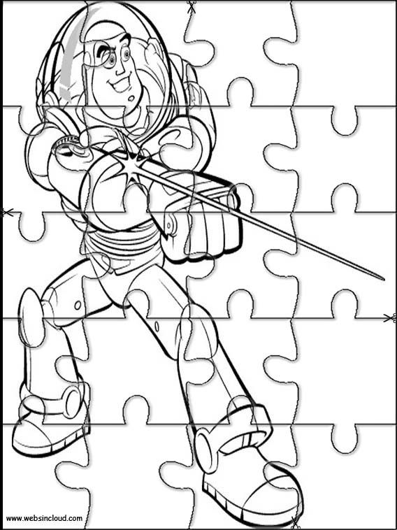 Printable jigsaw puzzles to cut out for kids Toy Story 5