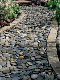 17 Best ideas about Cobblestone Patio on Pinterest