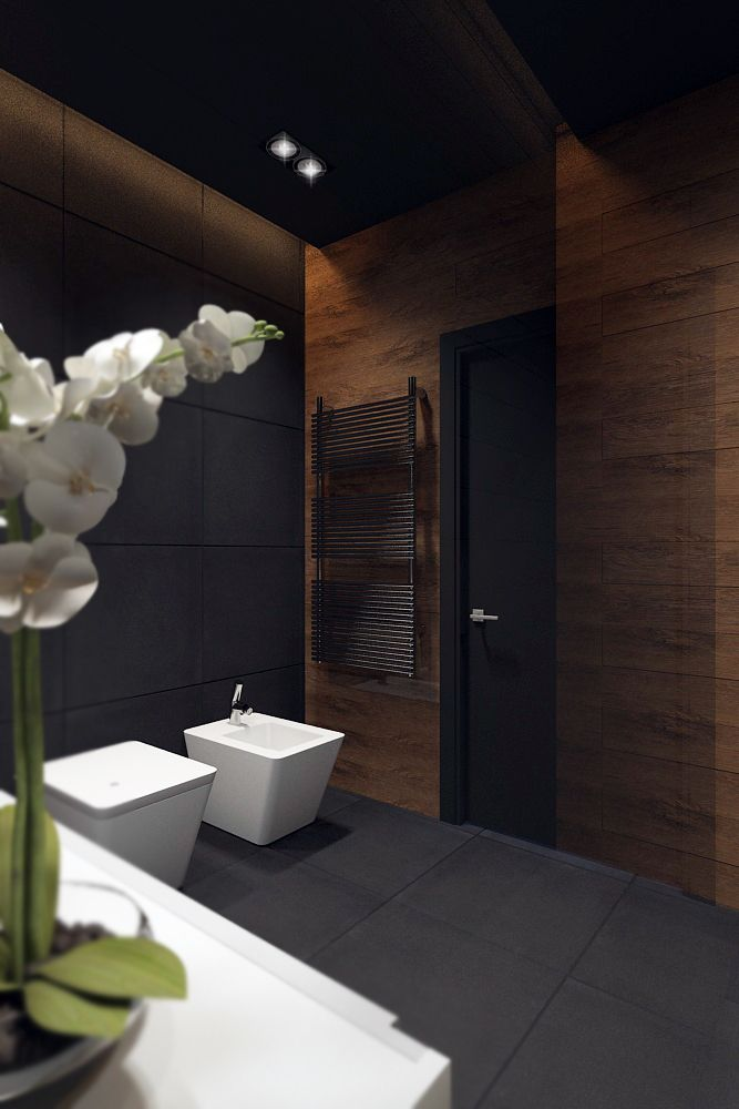 bathroom  blackstyle on Behance    Pinterest
