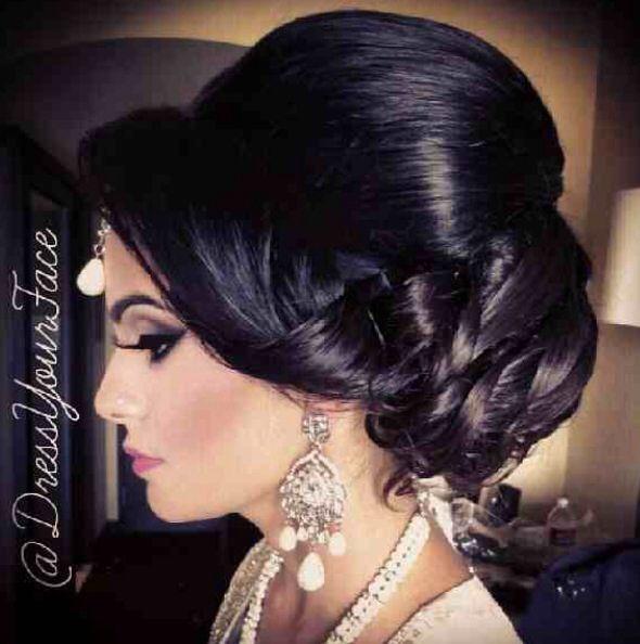 Best 25 Indian bridal hair ideas on Pinterest  Indian