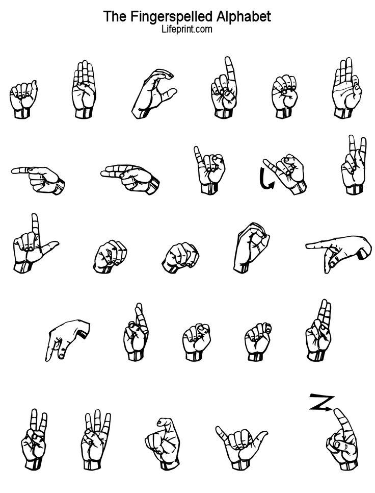 26 best images about K Sign Language on Pinterest