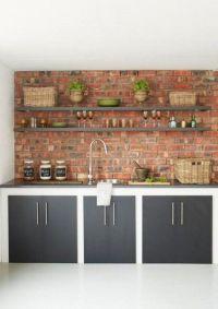 Best 25+ Kitchen brick ideas on Pinterest