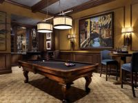 Nice looking billiard room, from High-end Interior Design ...