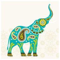 Paisley elephant | My Style | Pinterest | Paisley, Trunks ...