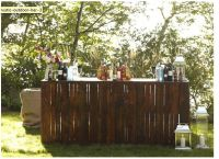 rustic bar - out door bar, wood pallets! | DIY Projects ...