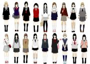 school uniforms unique fashion