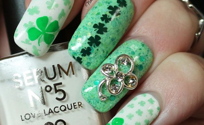1000 Images About Nail Art St Patrick S Day On
