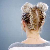 25+ best ideas about Braided short hair on Pinterest ...