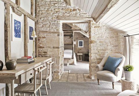 Beautiful interior design of Wild Rabbit hotel and pub in