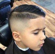 skin fade comb-over faux hawk