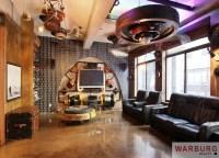 Steampunk living room | The Rox | Pinterest | Steampunk ...